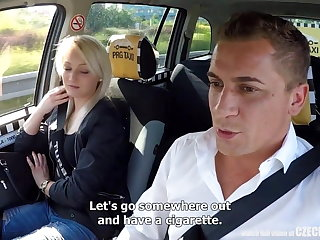 Unbelievable Reality - Strangers Voyeurs Obeying Czech TAXI