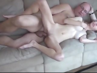 Big cock, Big pussy, Big tits, Cum, Cum in mouth, Dad, Old, Old and young, Pussy, Skinny, Teen, Teen big tits, Young