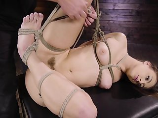 Anal bondage in inexact scenes be advantageous to a slaved girl