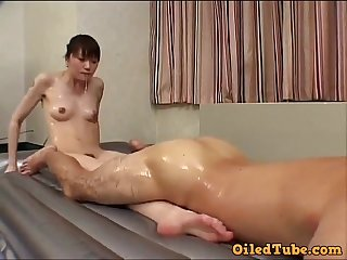 Body to erection massage hither a happy creampie ending.
