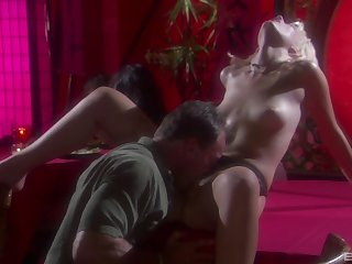Fantasy erotic sex with bonny tow-headed Kimberly Kane