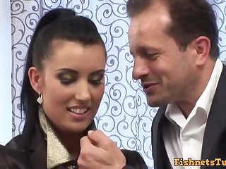 Euro Pizzazz Butt Sex - HD hardcore video with cumshot