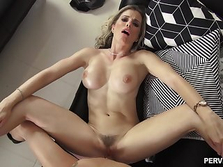 Cory Chase is the considerate of kinky stepmom most young bucks would carry the to fuck