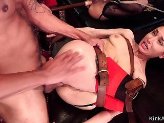 Young and old resulting anal bdsm fucking
