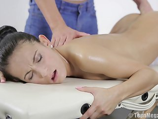 Massage is the abscond way to turn on Lexi Dona be advisable for amazing fucking