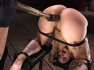 Bdsm, Bondage, Brunette, Slut, Tattoo