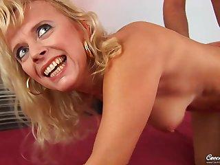 Czech Milf Marylin stunning sex video