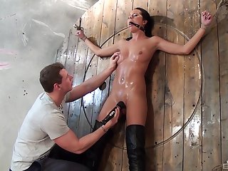 Uninteresting pussy poking with intercourse toys during torture be worthwhile for Mia Manarote