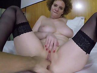 Big breasts tiro MILF fucked hard