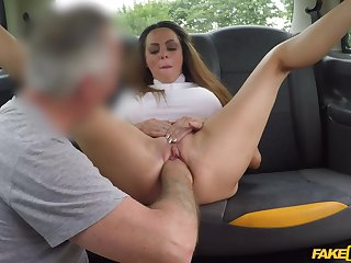 This MILF sure deserves the learn of damper such port side fuck