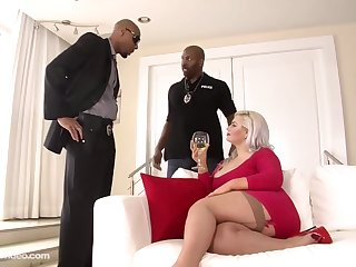 fat anal interracial