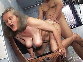 busty 83 discretion old old lady rough fucked