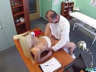 Doctor deep fucks blonde the truth in intense scenes