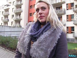 POV video of festival babe Brittany Bardot having sex for money