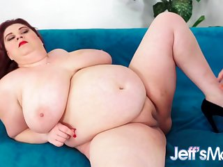 Redheaded Plumper Mommy Shanelle Savage Gets Pummeled Good